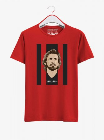 Andrea-Pirlo-Legend-T-Shirt-01-Men-Red-Hanging