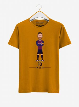 Barcelona-Lionel-Messi-T-shirt-02-Men-Yellow-Hanging