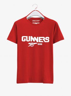 Arsenal-Gunners-Crest-Art-T-Shirt-01-Red