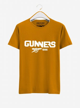 Arsenal-Gunners-Crest-Art-T-Shirt-01-Yellow