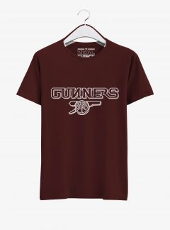 Arsenal-Gunners-Crest-Art-T-Shirt-02-Maroon