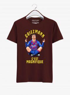 Barcelona-Antoine-Griezmann-T-Shirt-01-Maroon