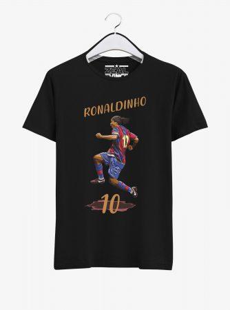 Barcelona-Legend-Ronaldinho-T-Shirt-01-Black