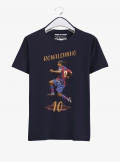 Barcelona-Legend-Ronaldinho-T-Shirt-01-Navy-Blue