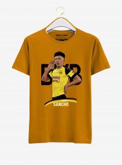 Borussia-Dortmund-Jadon-Sancho-T-Shirt-01-Yellow
