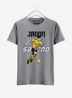 Borussia-Dortmund-Jadon-Sancho-T-Shirt-02-Grey-Melange