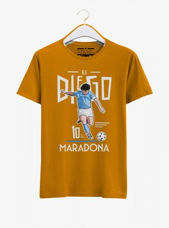 Diego-Maradona-Legend-T-Shirt-01-Yellow