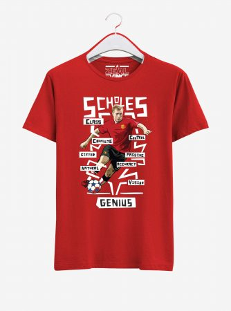 Manchester-United-Legend-Paul-Scholes-T-Shirt-01-Red