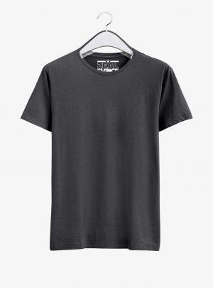 Charcoal Melange T Shirt