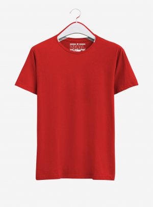 Plain Red T Shirt