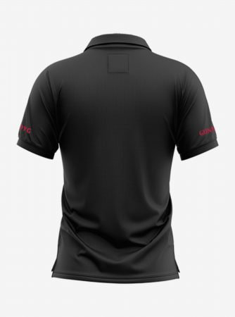 Arsenal-Crest-Black-Polo-T-Shirt-Back