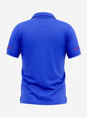 Arsenal-Crest-Royal-Blue-Polo-T-Shirt-Back