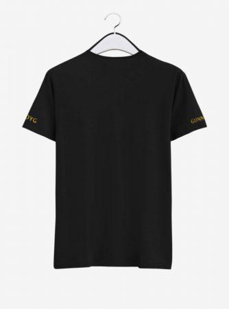 Arsenal-Golden-Crest-Center-Black-Round-NeckT-Shirt-Back