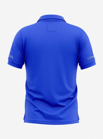 Arsenal-Silver-Crest-Royal-Blue-Polo-T-Shirt-Back