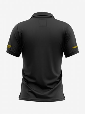 Barcelona-Crest-Black-Polo-T-Shirt-Back