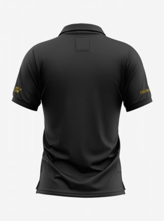 Barcelona-Golden-Crest-Black-Polo-T-Shirt-Back