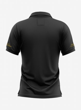 Chelsea-Golden-Crest-Black-Polo-T-Shirt-Back