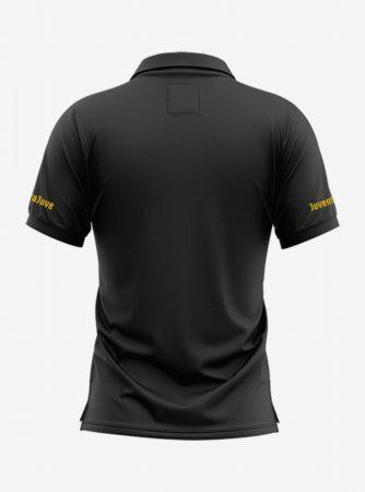Juventus-Crest-Black-Polo-T-Shirt-Back