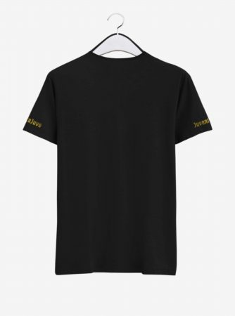 Juventus Golden Crest Round Neck T Shirt Back