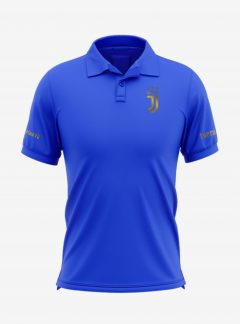 Juventus-Golden-Crest-Royal-Blue-Polo-T-Shirt-Front