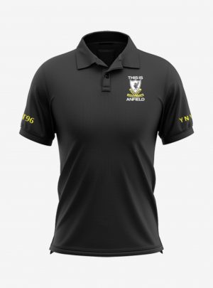 Liverpool-Crest-Black-Polo-T-Shirt-Front
