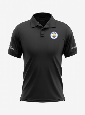 Manchester-City-Crest-Black-Polo-T-Shirt-Front