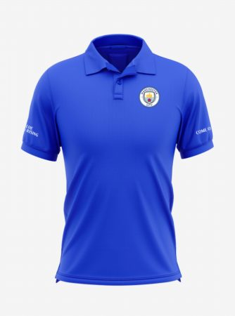 Manchester-City-Crest-Royal-Blue-Polo-T-Shirt-Front