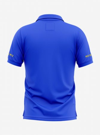 Manchester-United-Crest-Royal-Blue-Polo-T-Shirt-Back