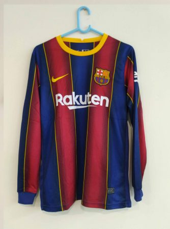 Barcelona-Long-Sleeve-Home-Football-Jersey-AI