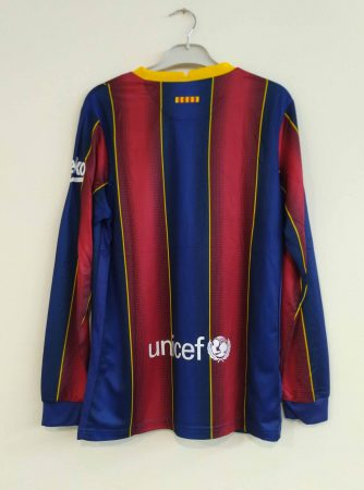 Barcelona-Long-Sleeve-Home-Football-Jersey-Back-AI