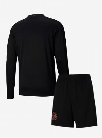 Manchester-City-Away-Long-Sleeve-Football-Jersey-And-Shorts-20-21-Season-Back