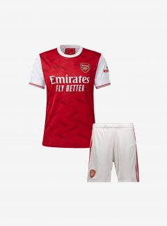 Kids-Arsenal-Home-Football-Jersey-And-Shorts-20-21-Season
